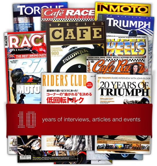 10 years - international press
